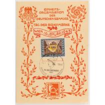 Német Bélyegnap 1943. - Tag Der Briefmarke 1943.