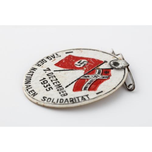 Német RLB – Reichs Luftschutz Bund Miniatur - Birodalmi Légoltalmi Liga Mini