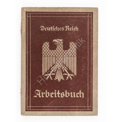 Német Munkakönyv - Arbeitsbuch - 1936. Köln