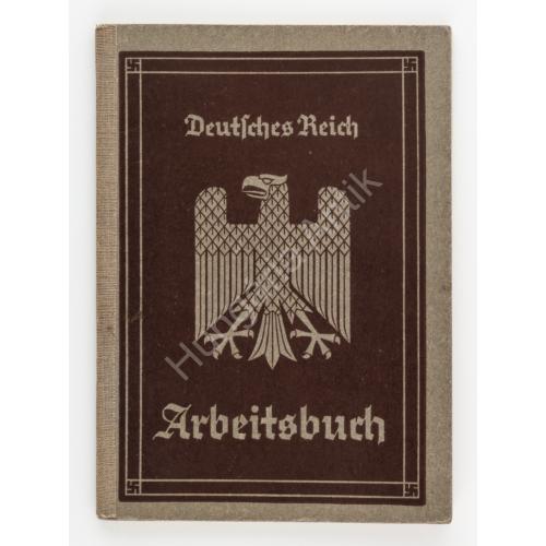 Német Munkakönyv - Arbeitsbuch - 1935. Breslau