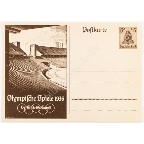 Német Propaganda Levelezőlap - 1936-os Olimpia