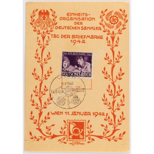 Német Bélyegnap 1942. - Tag Der Briefmarke 1942.