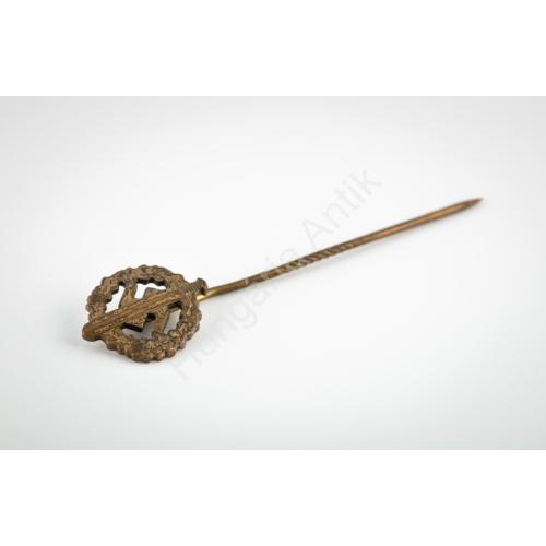 Német Második Világháborús SA-Sportabzeichen In Bronze Miniatur - SA Sportjelvény Bronz Fokozat Mini