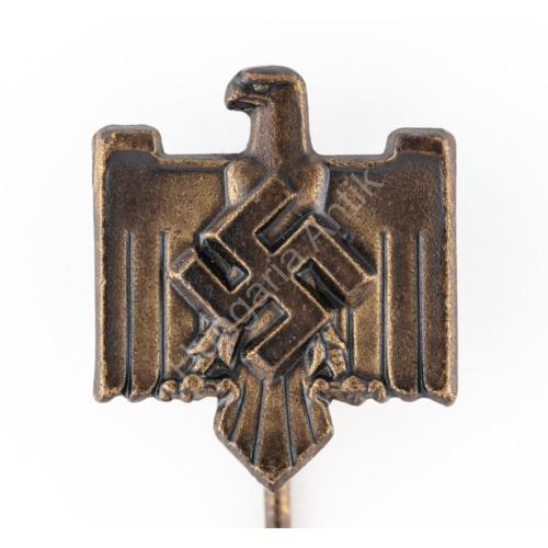 Német Második Világháborús National Sozialistische Reichsbund für Leibesübungen Mitgliedabzeichen - NSRL Tagsági Jelvény