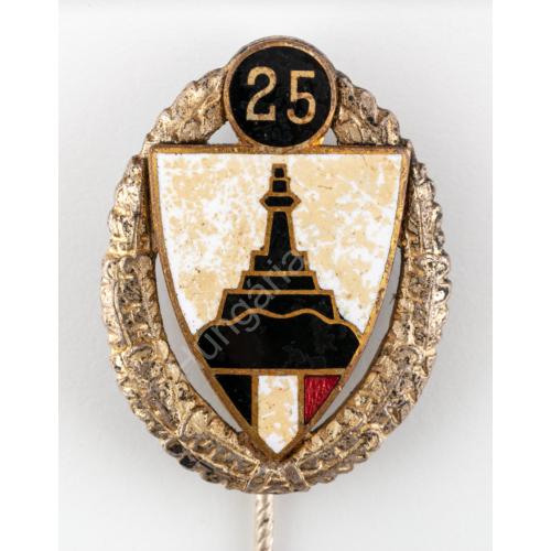 Német Nemzetiszocialista Birodalmi Harcos Szövetség 25 Év Tagsági Jelvény - Nationalsozialistische Deutscher Reichskriegerbund 25 Yahre Mitgleidsnadel